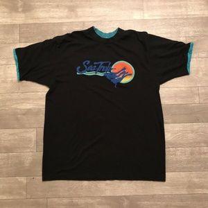 80's Puffy print Royal Caribbean Sea Trek T-Shirt